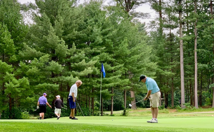 Golfers take to the course at Butternut Farm Golf Club